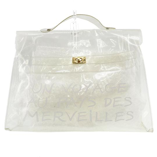 Hermès Tote in White Image 11