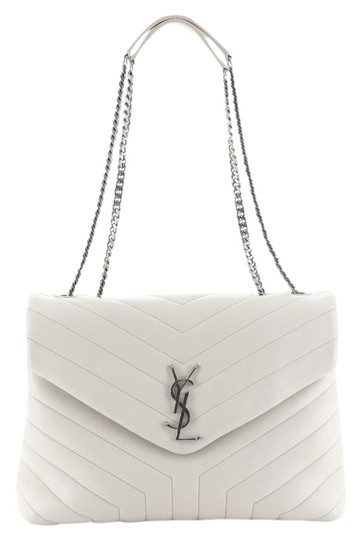 Preload https://img-static.tradesy.com/item/26252027/saint-laurent-monogram-loulou-matelasse-chevron-medium-white-leather-shoulder-bag-0-1-540-540.jpg