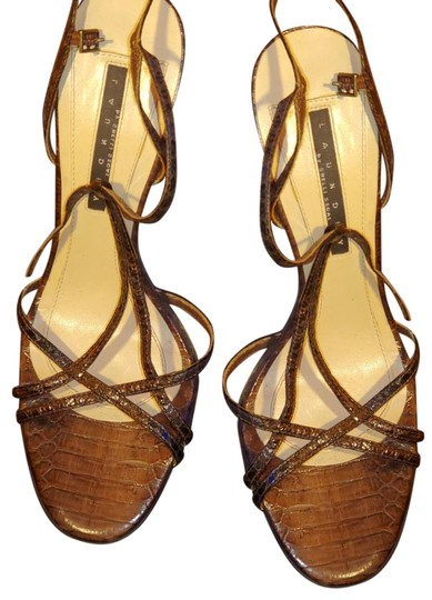 Laundry by Shelli Segal Brown Sandals Image 0