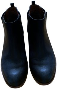 Kork Ease Ankle Leather Soles Low Brown Leather Footbed black Boots