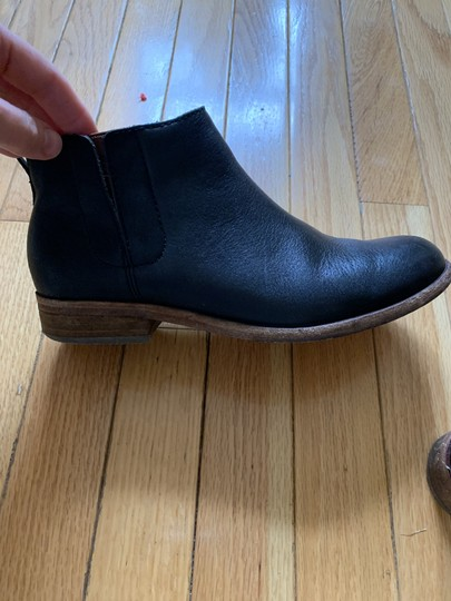Kork Ease Ankle Leather Soles Low Brown Leather Footbed black Boots Image 1