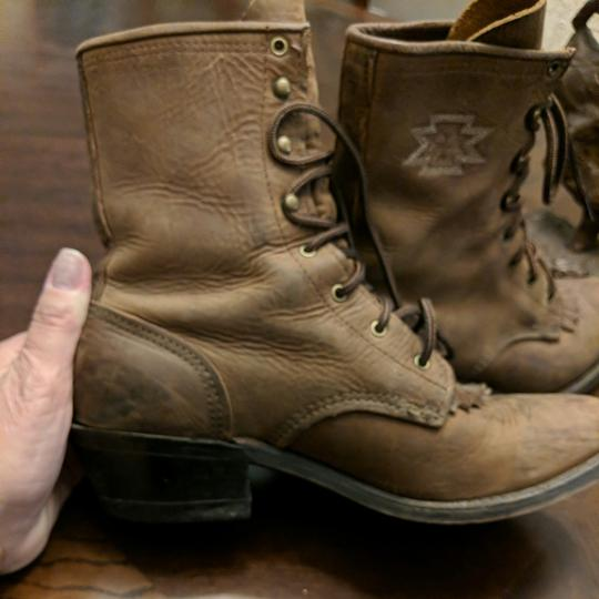 Justin Boots Brown Boots Image 6