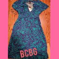 BCBGMAXAZRIA short dress Turquoise & Navy on Tradesy Image 0