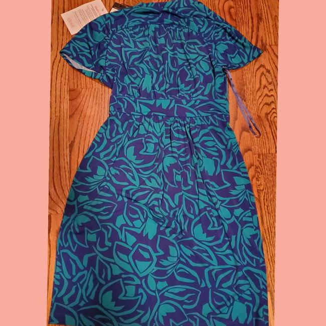 BCBGMAXAZRIA short dress Turquoise & Navy on Tradesy Image 1
