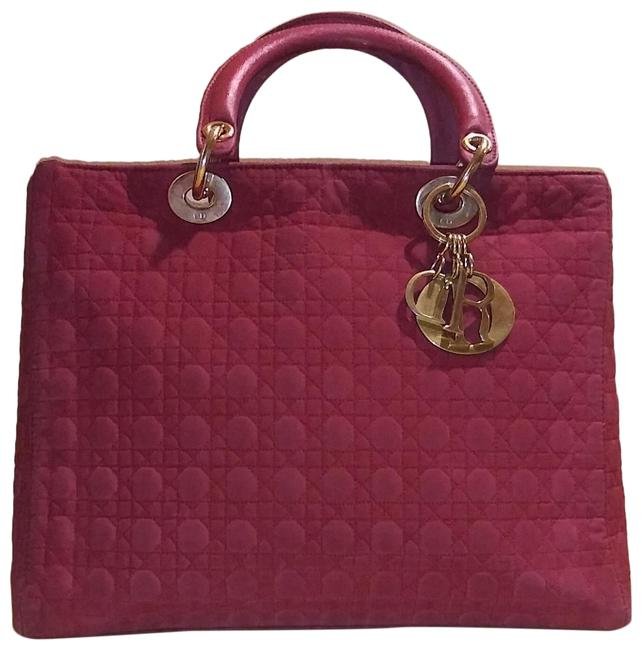 Item - Lady Cannage Red Nylon Tote
