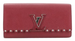 Louis Vuitton Leather Pink Clutch