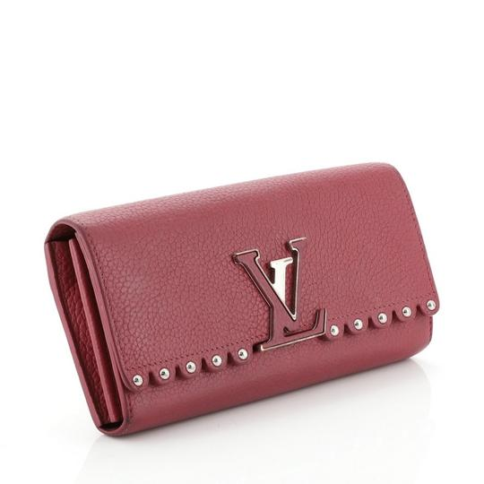 Louis Vuitton Leather Pink Clutch Image 1