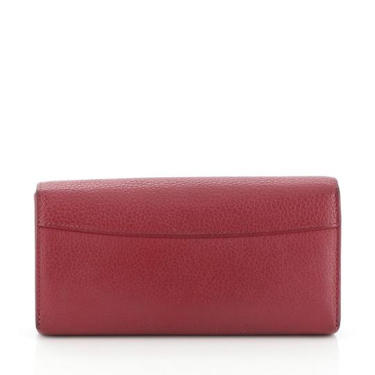 Louis Vuitton Leather Pink Clutch Image 2