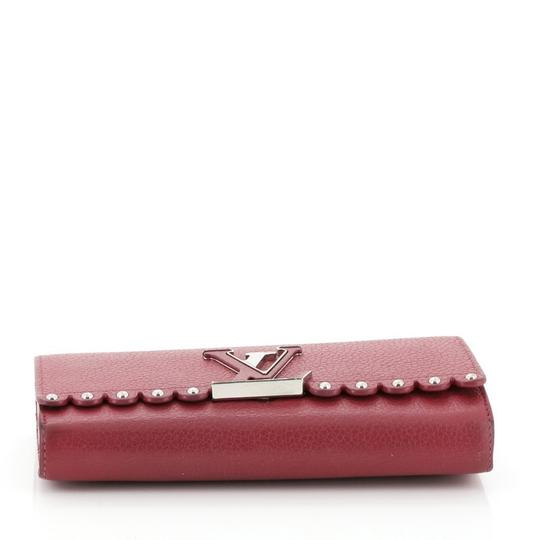 Louis Vuitton Leather Pink Clutch Image 3