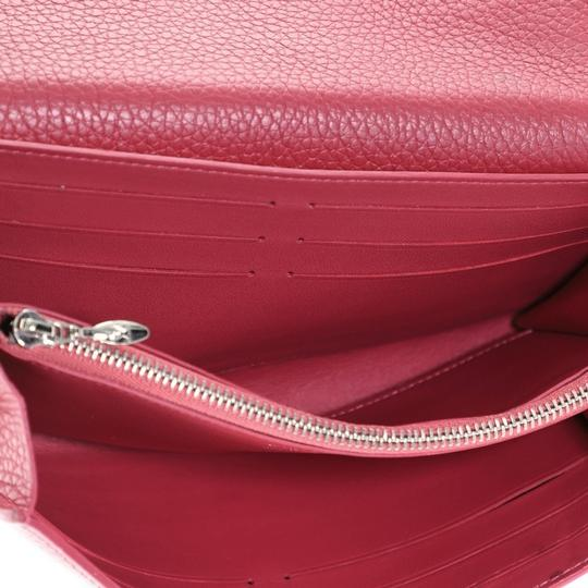 Louis Vuitton Leather Pink Clutch Image 4