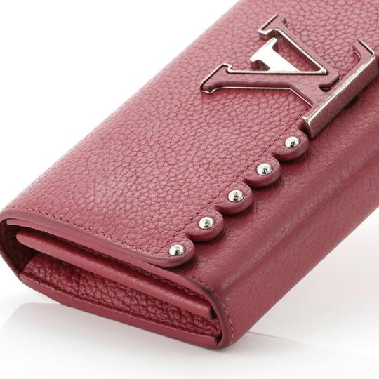 Louis Vuitton Leather Pink Clutch Image 5