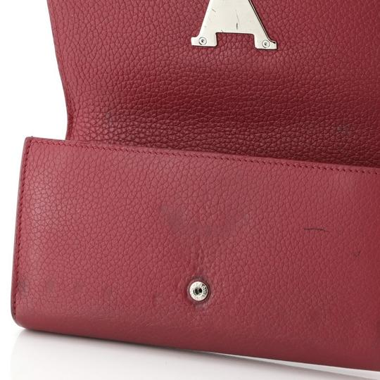 Louis Vuitton Leather Pink Clutch Image 6