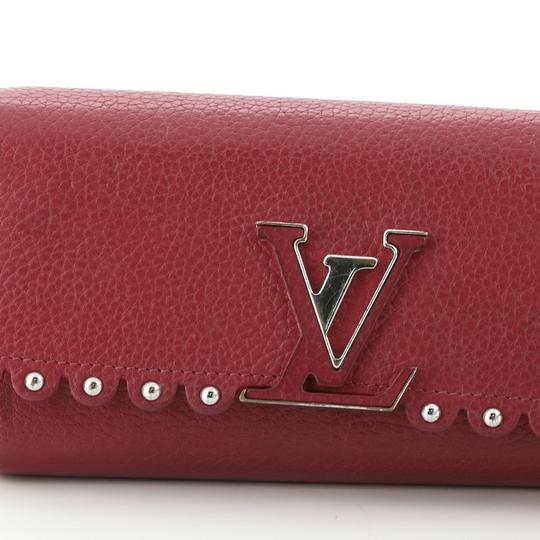 Louis Vuitton Leather Pink Clutch Image 7