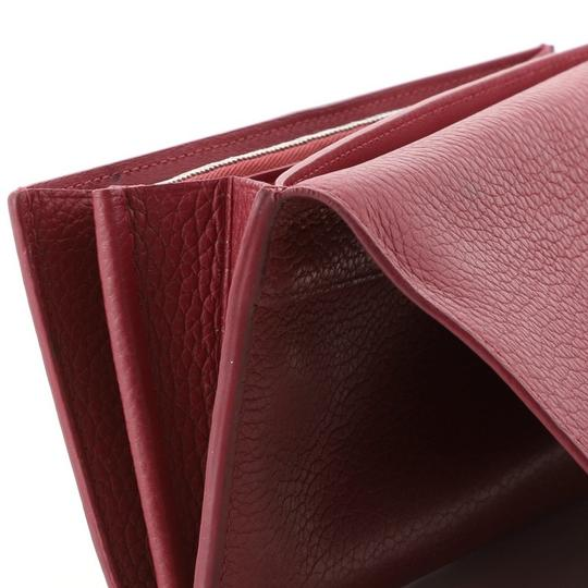Louis Vuitton Leather Pink Clutch Image 8