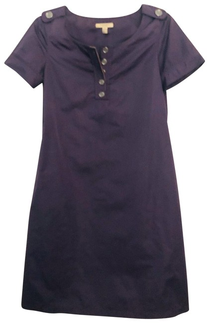 Burberry short dress purple on Tradesy Image 1