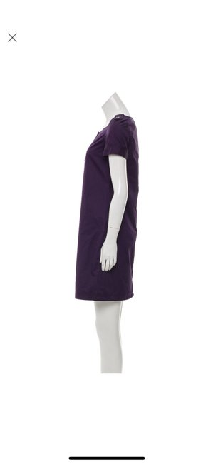 Burberry short dress purple on Tradesy Image 3