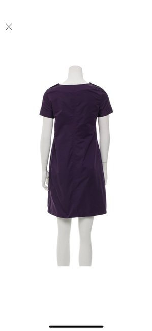 Burberry short dress purple on Tradesy Image 4
