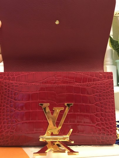 Louis Vuitton red Clutch Image 4