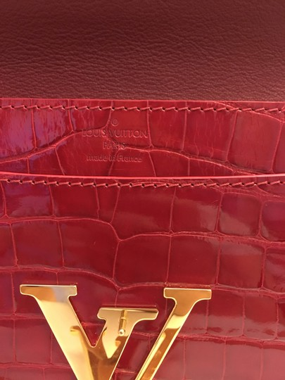 Louis Vuitton red Clutch Image 5