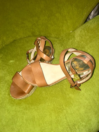 MICHAEL Michael Kors brown with gold hardware Sandals Image 2