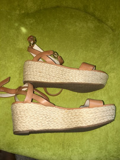 MICHAEL Michael Kors brown with gold hardware Sandals Image 6