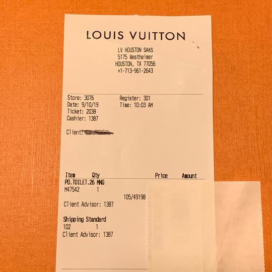 Louis Vuitton Limited Toiletry 26 New With Tags Monogram Clutch Image 11