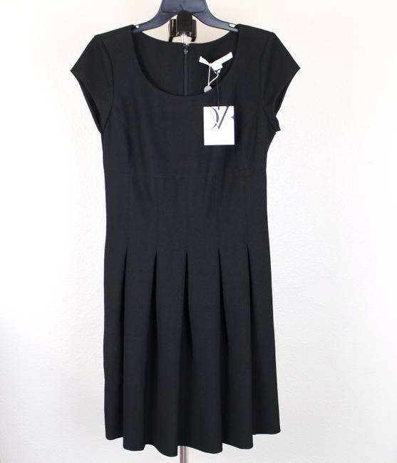 Diane von Furstenberg short dress Black Pleated Hollywood Date Night Holiday Fall on Tradesy Image 2
