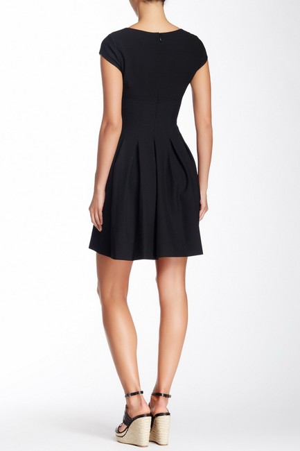Diane von Furstenberg short dress Black Pleated Hollywood Date Night Holiday Fall on Tradesy Image 5