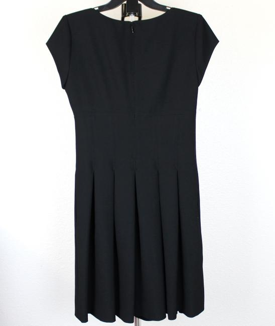 Diane von Furstenberg short dress Black Pleated Hollywood Date Night Holiday Fall on Tradesy Image 6
