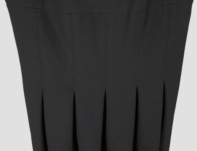 Diane von Furstenberg short dress Black Pleated Hollywood Date Night Holiday Fall on Tradesy Image 8