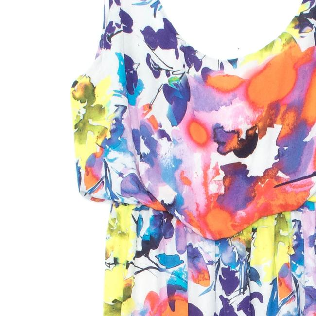Alice + Olivia Silk Sleeveless Floral Dress Image 2