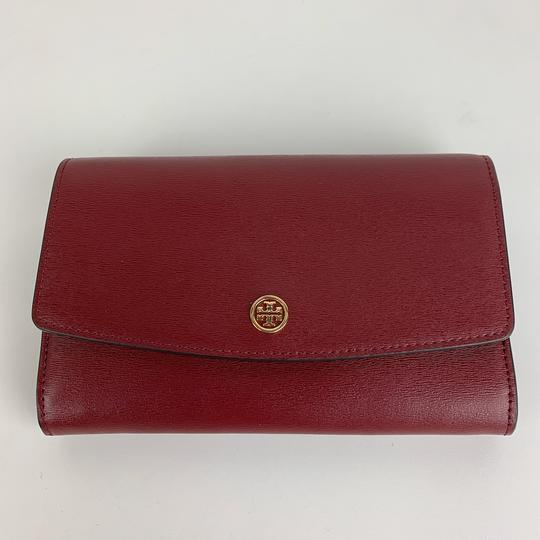 Tory Burch New Tory Burch Parker Leather Crossbody Wallet Image 1