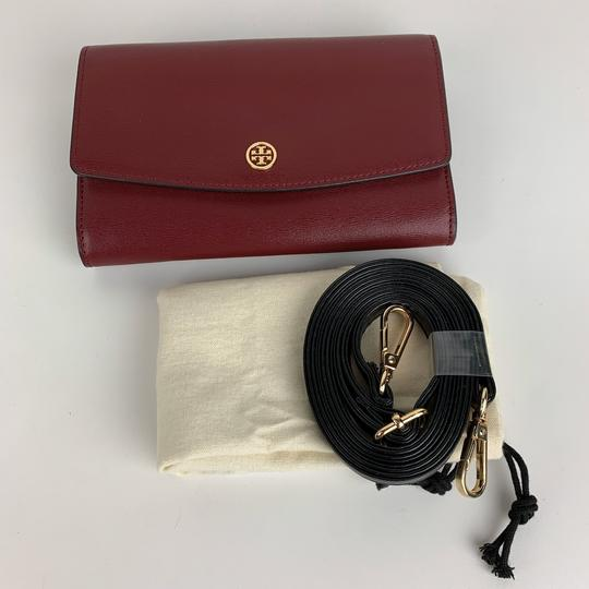 Tory Burch New Tory Burch Parker Leather Crossbody Wallet Image 4