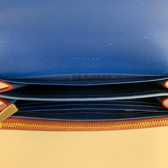 Tory Burch New Tory Burch Parker Leather Crossbody Wallet Image 6