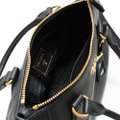 Prada Vitello Leather Convertible Phenix Tote in Black Image 4
