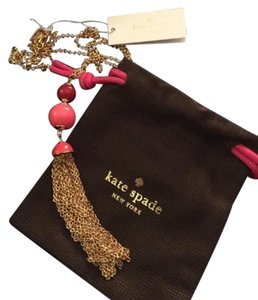 Kate Spade NWT Kate Spade That's a Wrap Tassel Necklace