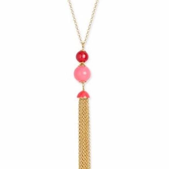 Kate Spade NWT Kate Spade That's a Wrap Tassel Necklace Image 3