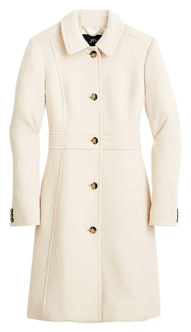 Item - Ivory Lady Day Coat Size 6 (S)