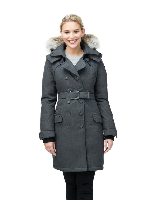 Item - Steel Grey Women's Tula Parka Coat Size 8 (M)