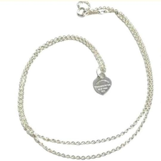 Tiffany & Co. GORGEOUS!! UNIQUE STYLE!! Tiffany & Co. Mini Return to Tiffany Heart Necklace Image 1