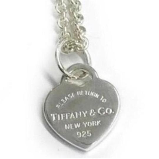 Tiffany & Co. GORGEOUS!! UNIQUE STYLE!! Tiffany & Co. Mini Return to Tiffany Heart Necklace Image 2