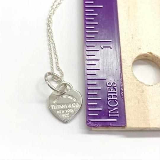 Tiffany & Co. GORGEOUS!! UNIQUE STYLE!! Tiffany & Co. Mini Return to Tiffany Heart Necklace Image 5