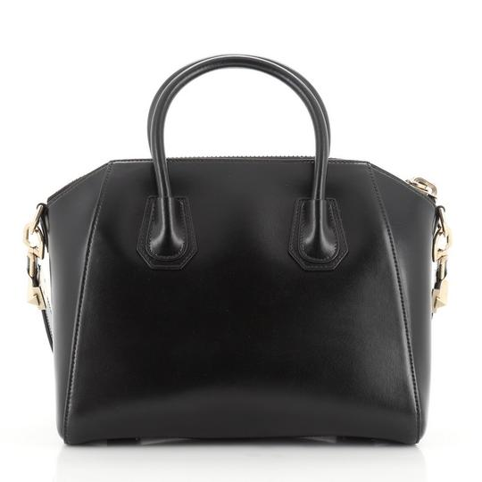 Givenchy Leather Satchel in Black Image 2