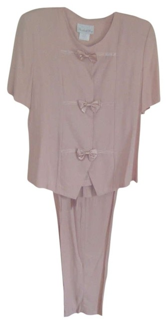 PRIDE AND JOY 8 NWT PRIDE N JOY SATIN TRIM DUSTY PINK