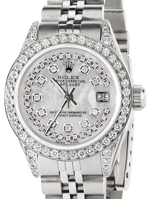 Rolex Stainless Steel W Datejust 26mm Jubilee Diamond W/Royal Mop Dial Watch Rolex Stainless Steel W Datejust 26mm Jubilee Diamond W/Royal Mop Dial Watch Image 1