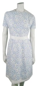 Thom Browne short dress White & Blue on Tradesy