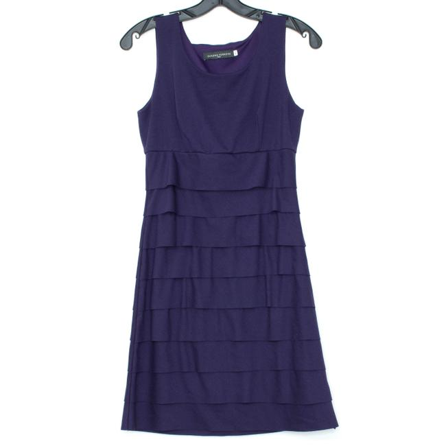 Sandro Ferrone Purple Short Formal Dress Size 10 (M) Sandro Ferrone Purple Short Formal Dress Size 10 (M) Image 1