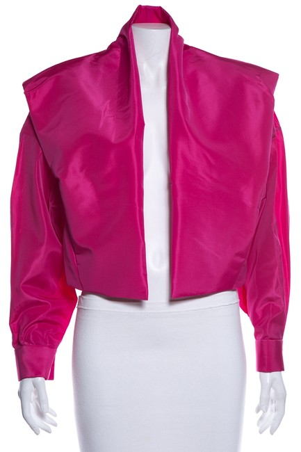 Item - Pink Cropped Jacket Size 4 (S)