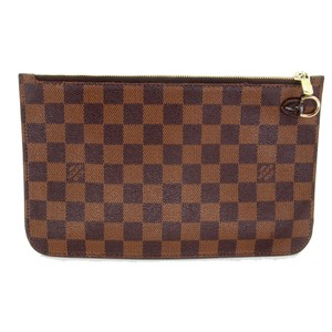 Louis Vuitton Gm Speedy Monogram Azur Sarah Wristlet in Brown
