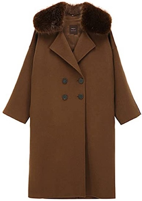 Item - Brown Hand-made Coat Size 4 (S)